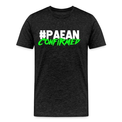 Paean Confirmed small can - Men's Premium T-Shirt