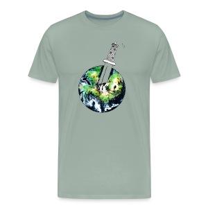 Oil Killer - Save planet - Men's Premium T-Shirt