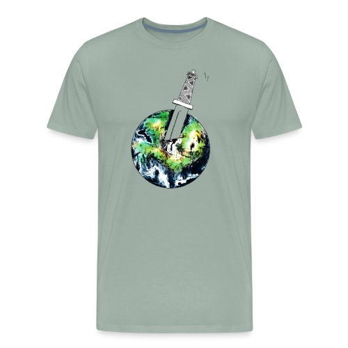 Oil Killer - Save planet - Men's Premium T-Shirt