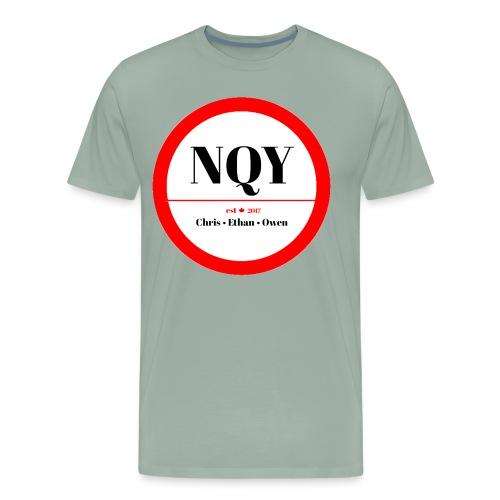 Not Quite Yet classic Canada design - Men's Premium T-Shirt