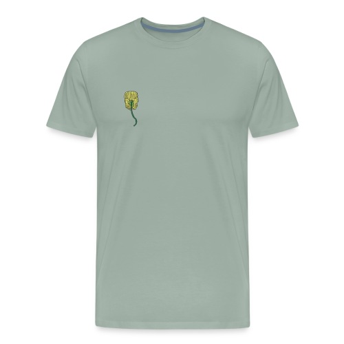 venus fly trap as a hair clip - Men's Premium T-Shirt