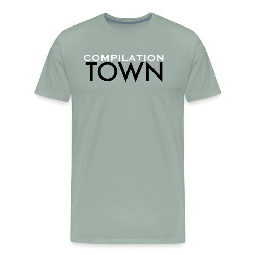 Compilation Town Logo Shirt - Men's Premium T-Shirt