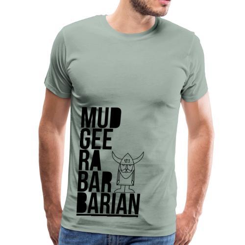 Mudgee Stack Black - Men's Premium T-Shirt
