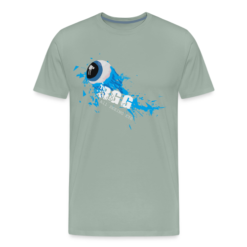 All Seeing Eye (Blue) - Men's Premium T-Shirt