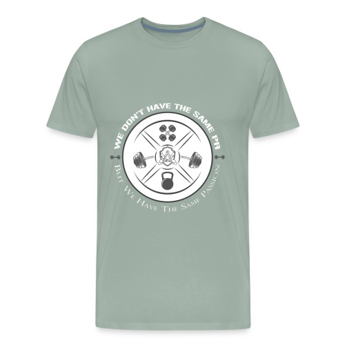 The same Passion blanc - Men's Premium T-Shirt