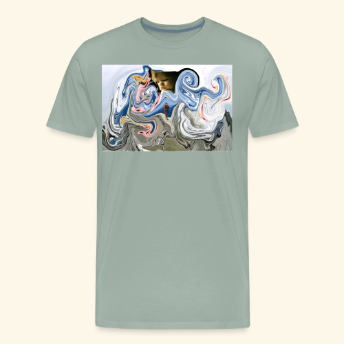 mother and baby - Men's Premium T-Shirt