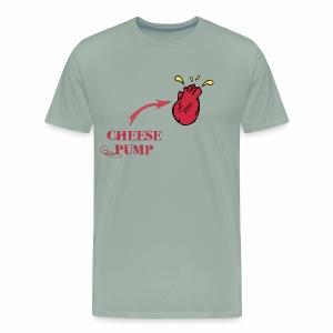 Cheesepump!! Fn Dante Savage - Men's Premium T-Shirt