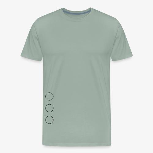 circles under your arm - Men's Premium T-Shirt