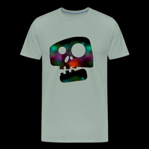 Retro skully - Men's Premium T-Shirt