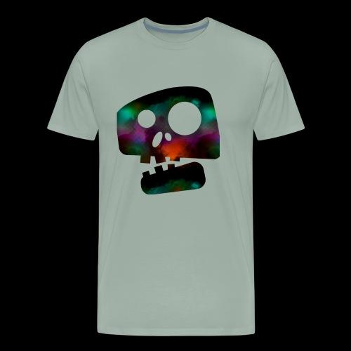 Retro skully - Men's Premium T-Shirt