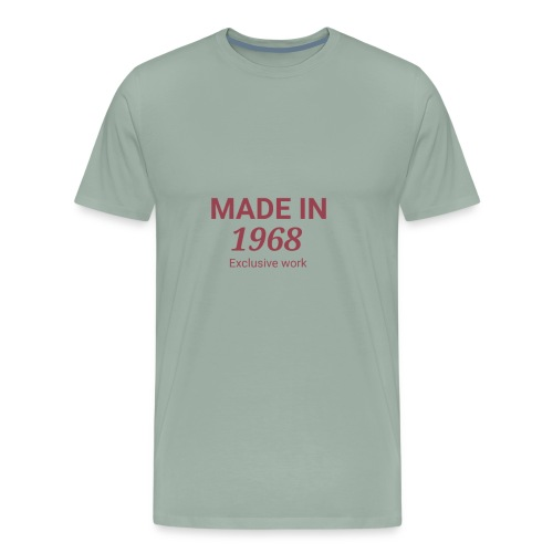 MADE IN 1968. Exclusive work Gift - Men's Premium T-Shirt