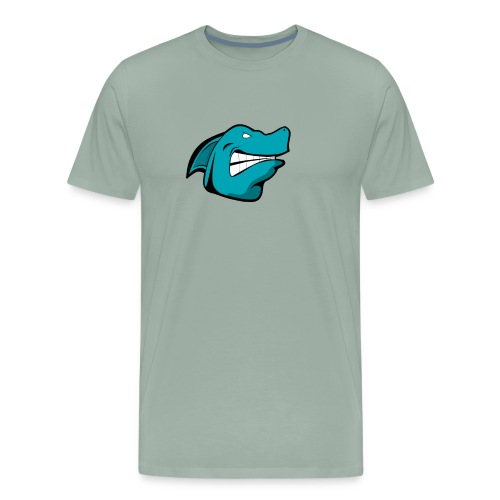 JustAFish Shark Logo - Men's Premium T-Shirt