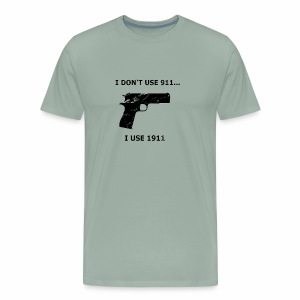 1911 distressed - Men's Premium T-Shirt