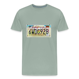 license plate Mix - Men's Premium T-Shirt