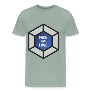 Pace and love - Men's Premium T-Shirt
