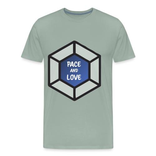 Pace and love - Men's Premium T-Shirt