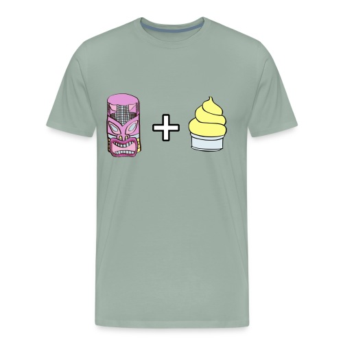 Tiki Room & Dole Whips - Men's Premium T-Shirt
