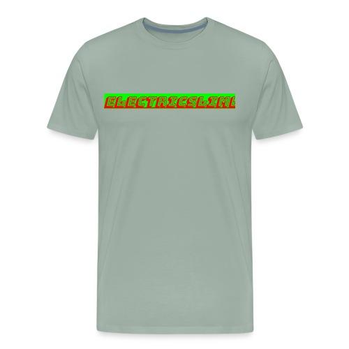 ElectricSlime Text - Men's Premium T-Shirt