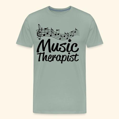 Music Therapy - Men's Premium T-Shirt