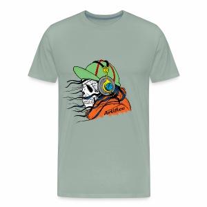 Music Man Skull - Men's Premium T-Shirt