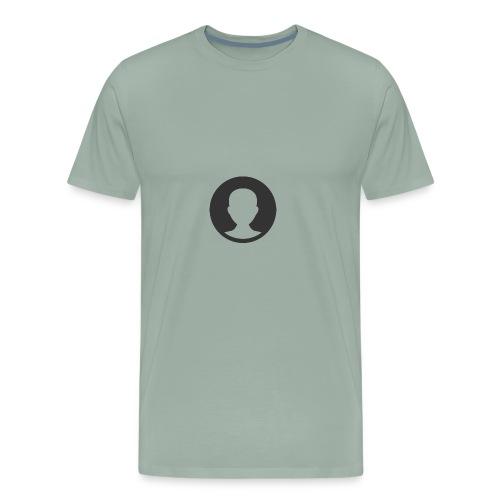 male shadow fill circle 512 - Men's Premium T-Shirt
