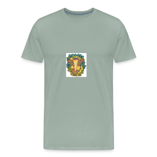 Positivity Elephant - Men's Premium T-Shirt