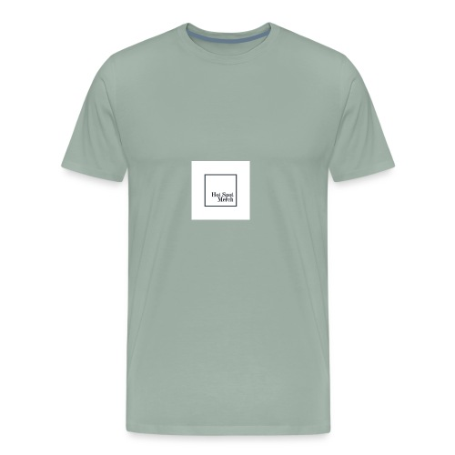 Hotspot Black Logo - Men's Premium T-Shirt