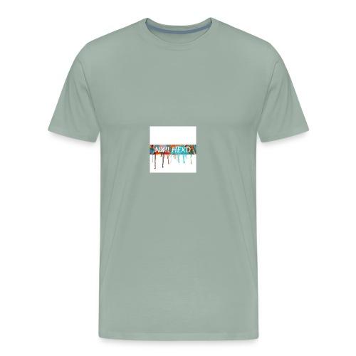 melting NXIL HEXD logo shirt !!!! 🔥⚡️ - Men's Premium T-Shirt