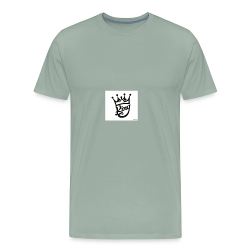 king royal logo - Men's Premium T-Shirt