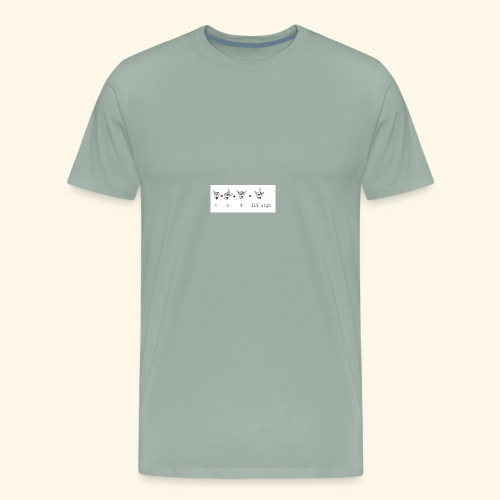 illuminati symbols I L KILKsign - Men's Premium T-Shirt