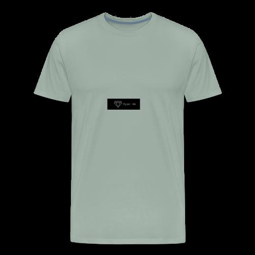 ryan 44 diamond banner icon - Men's Premium T-Shirt