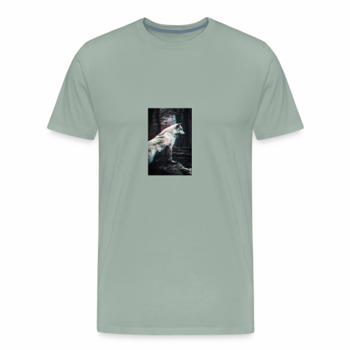 Vigorous Wolf - Men's Premium T-Shirt