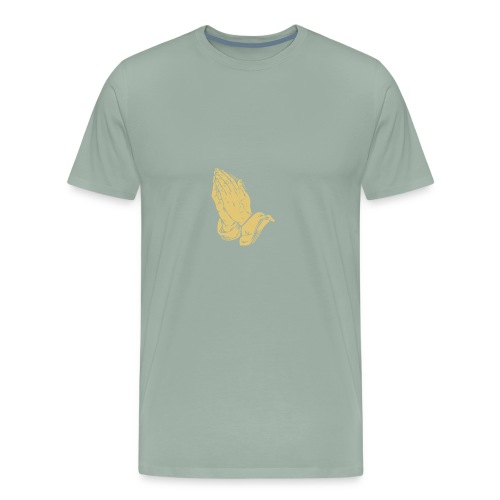 Prayer hands - Men's Premium T-Shirt