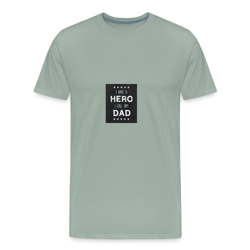 best dad quotes best dad sayings images free stock - Men's Premium T-Shirt