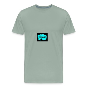 ge out here - Men's Premium T-Shirt