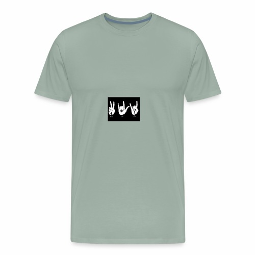 I Love Rock - Men's Premium T-Shirt