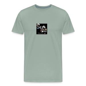 ScoGang Design in Memory of Deshawn Jones - Men's Premium T-Shirt