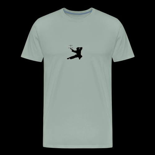 Lawyer Fu Logo - Simple - Men's Premium T-Shirt