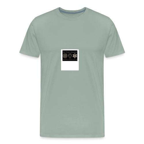 in this family nobody fights alone merchandise - Men's Premium T-Shirt