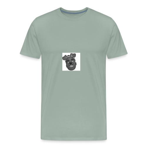 Caleb Quarshie- Sketch - Men's Premium T-Shirt