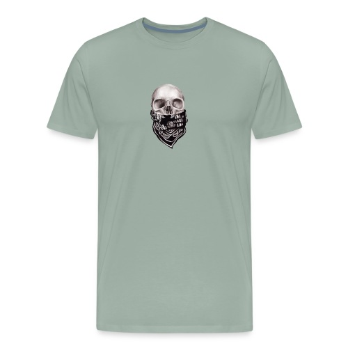 scul msk - Men's Premium T-Shirt