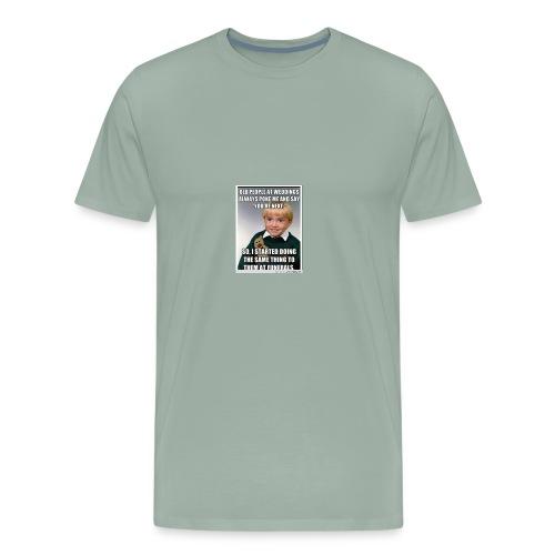 Funny means - Men's Premium T-Shirt