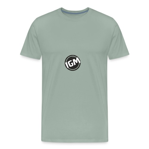 IBBY GUCCI MONKEY LOGO - Men's Premium T-Shirt