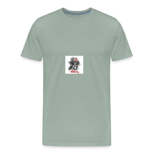 lord shiva indian god - Men's Premium T-Shirt