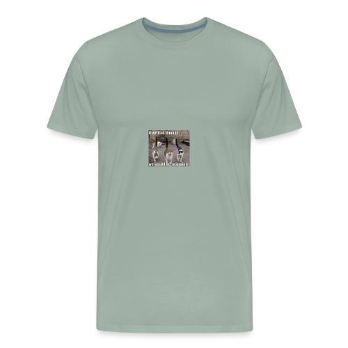 funny cat - Men's Premium T-Shirt