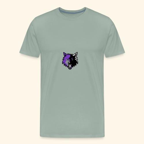WolfyLogo 2 - Men's Premium T-Shirt