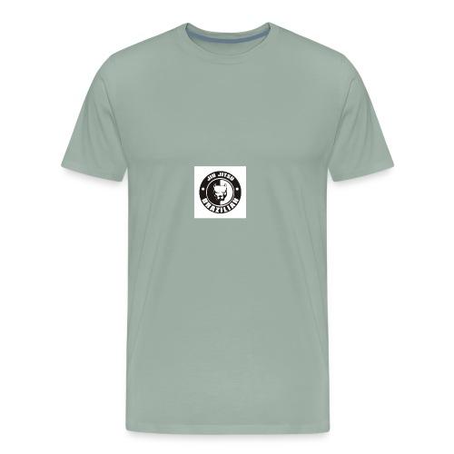 74a12c576b00f2875ab2ccbfda5c485e brazilian jiu ji - Men's Premium T-Shirt