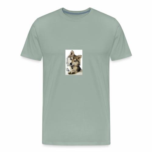 cute dog1 - Men's Premium T-Shirt