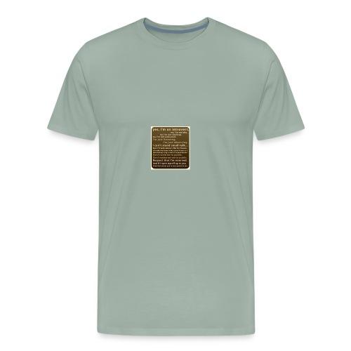 D72D8388 934F 4221 8864 66E8C7039F2A - Men's Premium T-Shirt