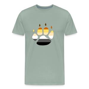 Bear PRIDE PAW - Men's Premium T-Shirt